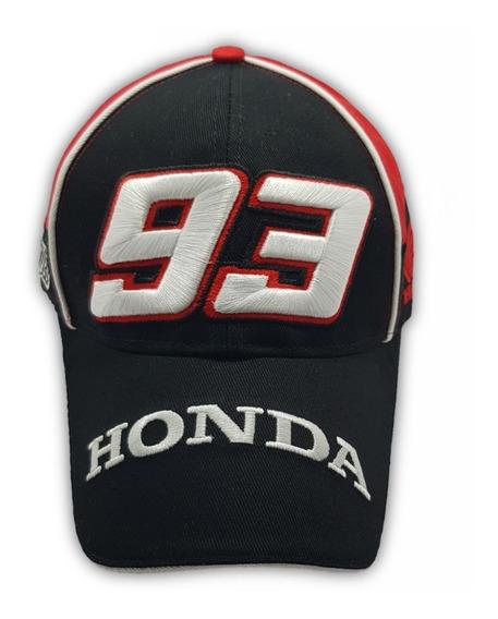 Boné Marc Marquez 93 Honda Repsol Piloto Moto Gp Racing Vr46 Modelo Novo