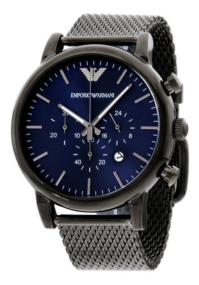 Relógio Masculino Emporio Armani Ar1979 Aço Inoxidável