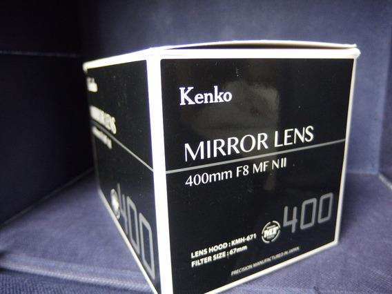 Lente Kenko 400mm F/8 Micro 4/3 M4/3 Lumix Olympus Espelho