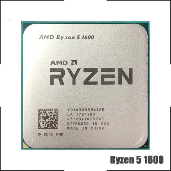 Processador Amd Ryzen 5 1600 3.2-3.6ghz.