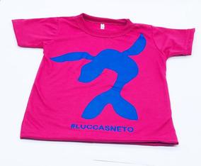 Combo Camisa E Boné Do Luccas Neto Rosa E Pink !!!!