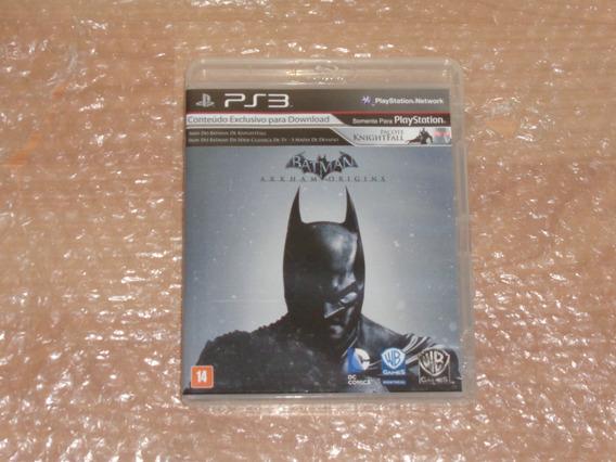Batman Arkham Origins - Ps3 - Frete R$ 20