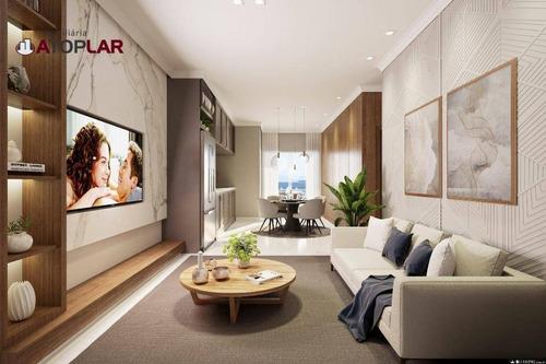 Apartamento À Venda, 78 M² - Perequê - Porto Belo/sc - Ap1464
