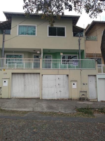 Casa Espetacular No Bairro Santa Branca. 3 Quartos 1 Suite. 4 Vagas. Ótima Localização. - 1996