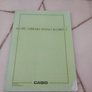 Music Library Piano Scores [ 1 ] By Casio