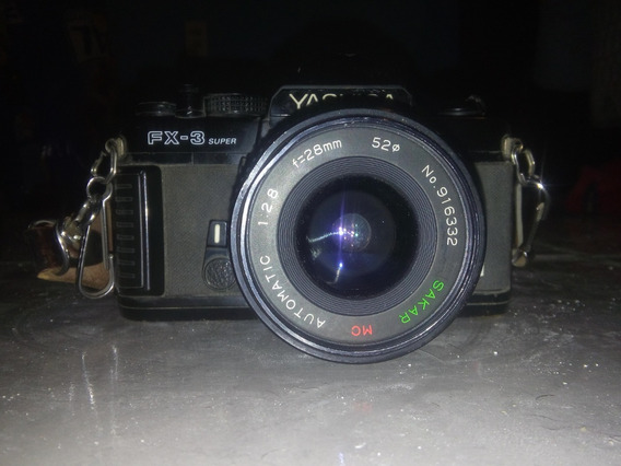 Camara Fotografica Yashica Fx-3 Super