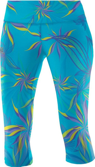 Calza Salomon - Mujer - Graphic 3/4 Tight W - Running