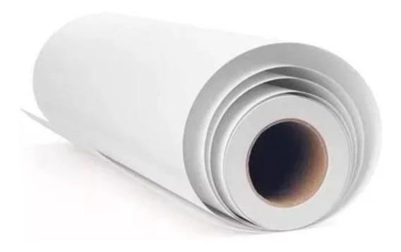 6rolos De Papel Para Plotter 50 Metros X 61 Cm 75gr + Brinde