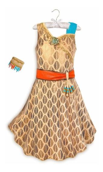 Vestido Pocahontas Original Disney Store!
