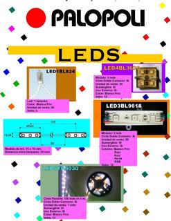 Led 20 Modulos C/4 Luces C/u Sumergible Bco. Frio Palopoli