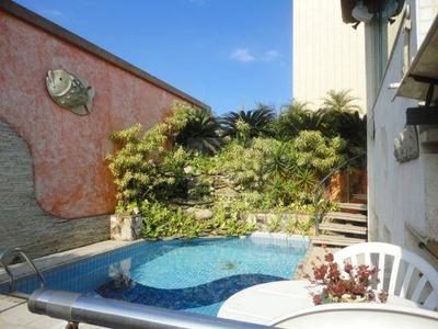 Cobertura Com 3 Dormitórios Sendo 1 Suite,4 Vagas Demarcada, À Venda, 474 M² Por R$ 1.600.000 - Ponta Da Praia - Santos/sp - Co0072