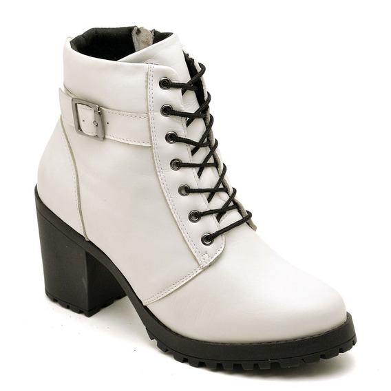 Bota Feminina Coturno Sapato Novo 18000 Promoçao