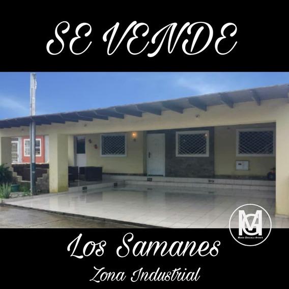 Casa 3 Hab Los Samanes Zona Industrial
