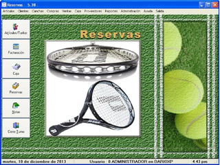 Soft Gestion Reservas De Canchas Con Licencias Para 6 Pc!