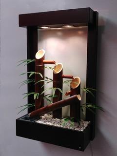 Fuente Colgante De Agua (bambus)