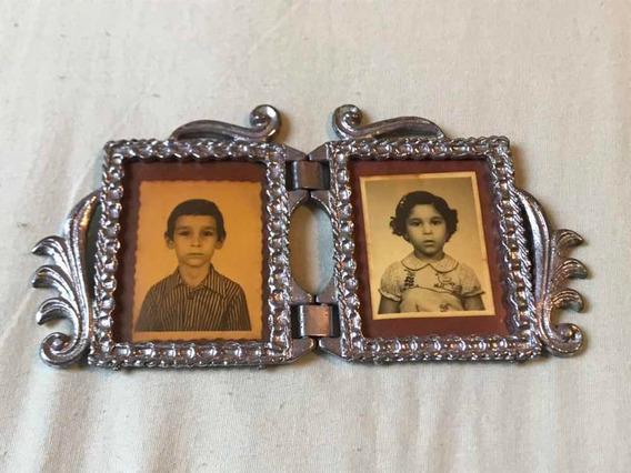 Porta Retrato Antigo Fotos 6x4cm
