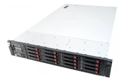 Servidor Hp Proliant Dl380 G7 2xeon Quad 2sas 300gb S/ Trilh