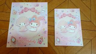 Set Papel De Carta Sanrio My Melody 3 Kiowoland