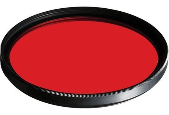 Filtro De Lente Para Go Pro Gp-lj 52 Mm 52mm Cor Vermelho