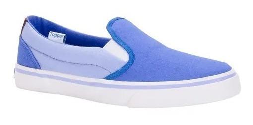 Zapatillas Topper Mujer Oed Sally Azul Celeste Claro