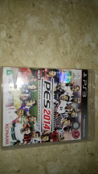 Pes 2014 Ps3 Game