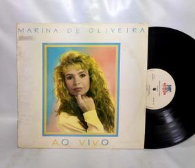 Lp Marina De Oliveira - Ao Vivo