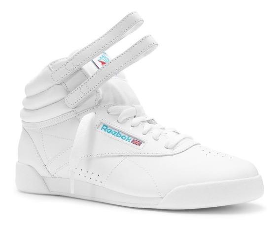 Tenis Reebok Kj Classic Freestyle Hi Blanco 50141 Tenis.com