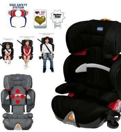 Cadeira Para Auto Chicco Oasys 2-3 Evo Sem Isofix