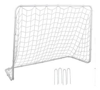 Arco De Mini Baby Fútbol Incluye Malla 182x122cm / Diverti
