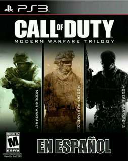 Call Of Duty Modern Warfare Trilogia Español - Mza Games Ps3