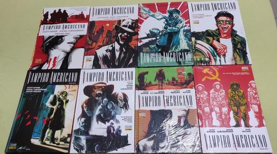 Vampiro Americano 01-08 Vertigo Capa Dura [autografada]