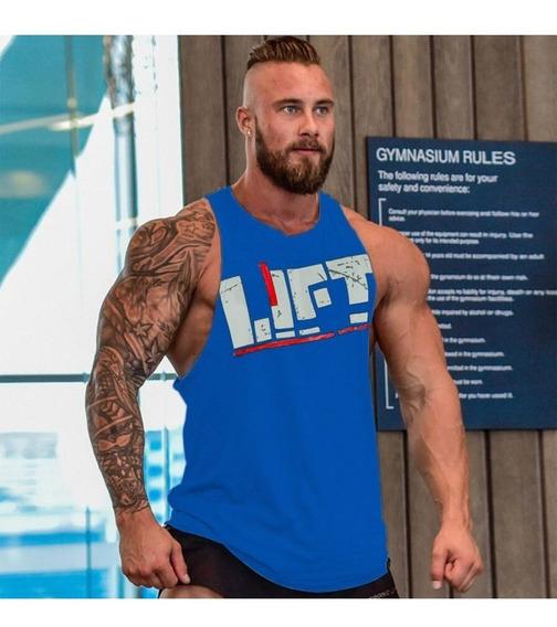 Playera Olimpica Lift Gym Hombre Camiseta Ejercicio