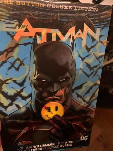 Batman/flash The Button - Tapa Dura Lenticular