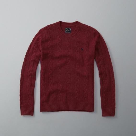 Suéter Masculino Abercrombie & Fitch - Original