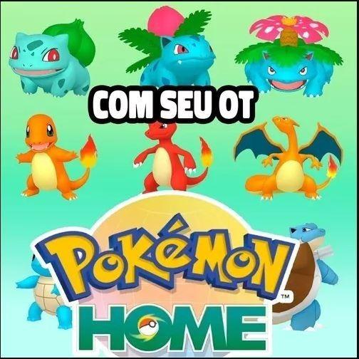 930 Shiny Pokemon + 950 Pkm (comp) + Seu Ot Para Seu Home