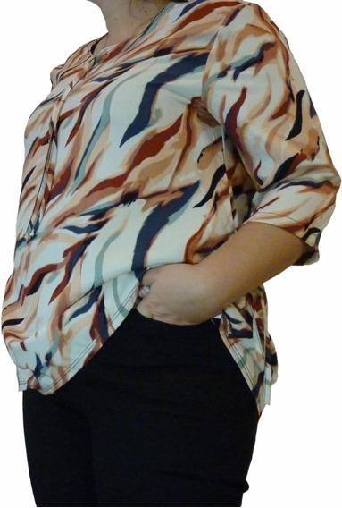 Blusa De Mujer, Señora, Talles Especiales Del 3 Al 7