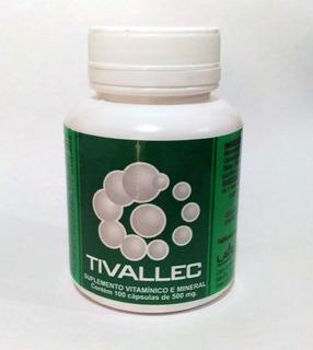 Tivallec - Suplemento Vitamínico-mineral 100 Caps/500 Mg.