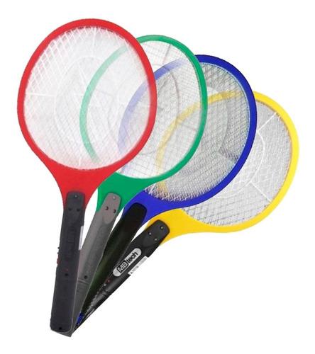 Imagem 1 de 3 de Raquete Elétrica Para Matar Mosquito Recarregável Mb Tech