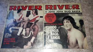 River. Pack De 2 Revistas. Excelente Estado. 1977 Y 1978.