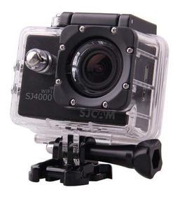 Camera Sj 4000 Wifi Original Com Tds Acessorios