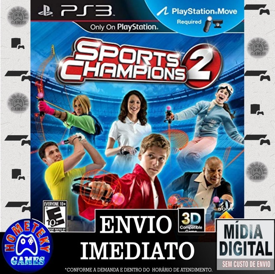 Sports Champions 2 - Psn Ps3 Pronta Entrega