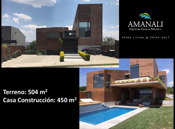 Espectacular Casa En Amanali Country Club, 4 Habitaciones