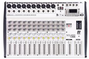 Mesa De Som Staner Mx 1203 Usb Original Garantia Nf Mx1203
