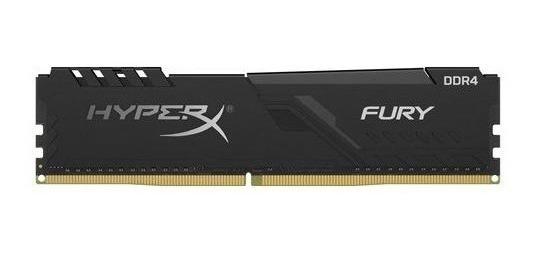 Memória Ram Hyperx Fury 8gb Ddr4 2666mhz (hx426c16fb3/8)