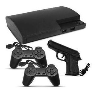 Consola Polystation 8 Tipo Ps3 Play Pistola