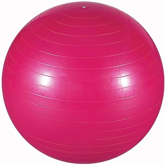 Bola Exercícios Pilates 65cm Até 150kg Rosa Lorben Gt351