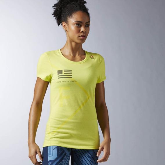 Liquidacion Camiseta Reebok Crossfit Performance Blend Graph