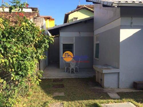Linda Casa Com 2 Dormitórios À Venda, 120 M² Por R$ 350.000 - Extensão Do Bosque - Rio Das Ostras/rj - Ca1823