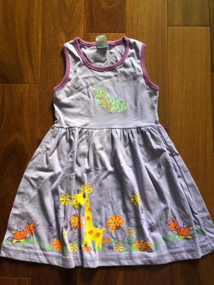 Lindo Vestidinho Infantil Para Bebê Lilás