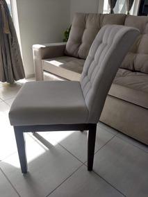 Cadeira Estofada Milla C/ Strass